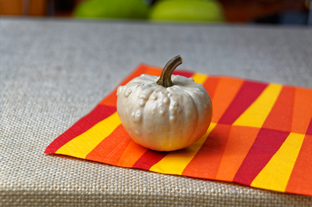 collectible: Decorative collectible small pumpkins for festive table decoration