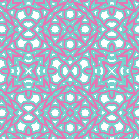 drape: Romantic pink symmetrical pattern to drape gifts for the holidays Illustration