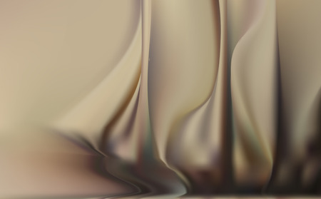dreamlike: light beige soft background with soft delicate folds