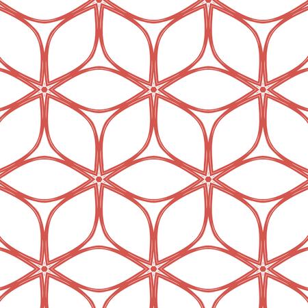 Semplice primitivo, morbido rosa modello moderno con linee e fiori Archivio Fotografico - 52686183