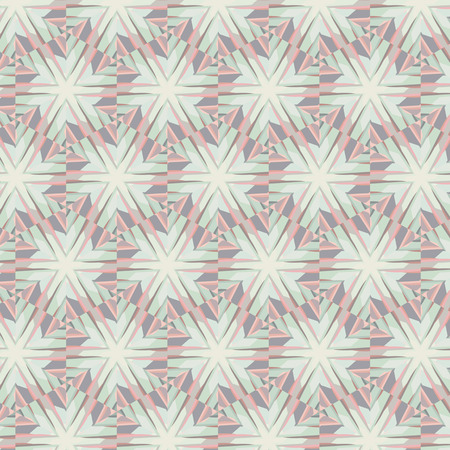 especial: Primitive simple grey, lilac pattern with lines and flowers