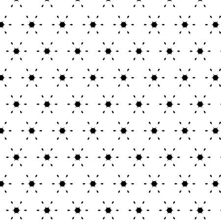 モダンな抽象、小飾り黒白いパターン。