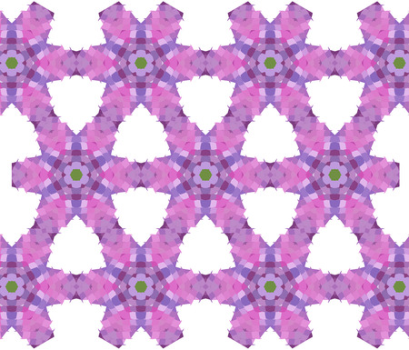 Primitive semplice, modello moderno lilla viola con rettangoli e fiori Archivio Fotografico - 61589939