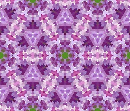 Primitive semplice, modello moderno lilla viola con rettangoli e fiori Archivio Fotografico - 61589929