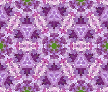 primitive: Primitive simple purple, lilac modern pattern with rectangles and flowers