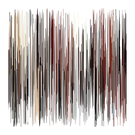 Abstract broad strokes of type painted wood brown and pink red Illustration