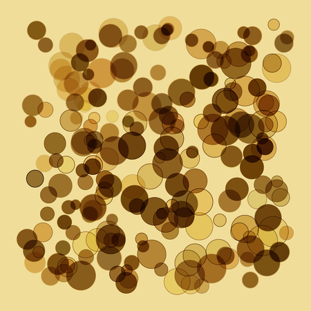 Golden abstract background in the form of a spray of scales and spots. Gold strips.