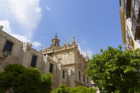 Capilla San Jose. SEVILLE CAPILLA DE SAN JOSE DESDE CALLE SIERPES. elements of architecture Seville. Andalusia. Spanish architectural. Capilla San Jose