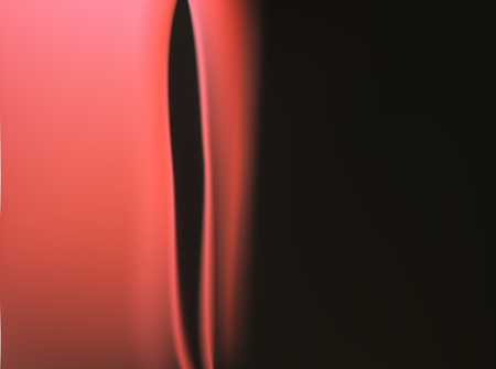 Silk red scarlet satin background with soft delicate folds and ribbons. Color burgundy and royal curtain.