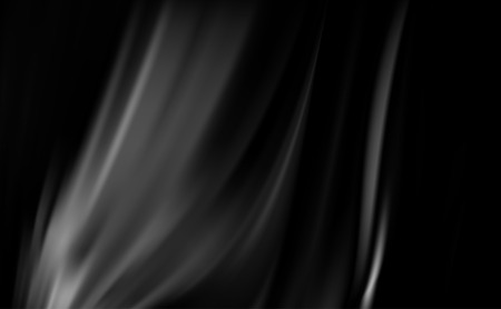 bright black background with soft delicate folds