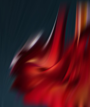 Red scarlet abstract background the flames of hell. The vortices of the Royal mantle. 矢量图像
