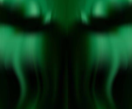 Silk emerald drape for Wallpaper. Green natural background with soft folds. Fresh green color.  イラスト・ベクター素材