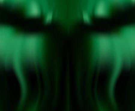Silk emerald drape for Wallpaper. Green natural background with soft folds. Fresh green color. Иллюстрация