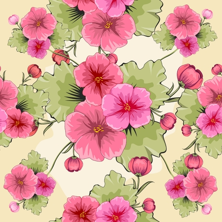 green carpet: seamless floral background