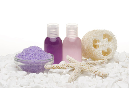spa and body care products Stok Fotoğraf