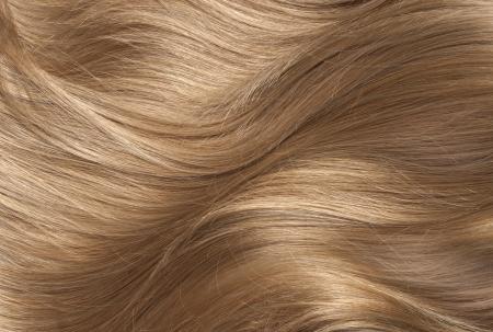 Wavy blonde human hair background Stok Fotoğraf