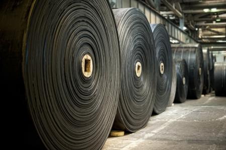 caoutchouc: Material rolls