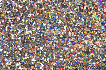 Multi colored glitter background