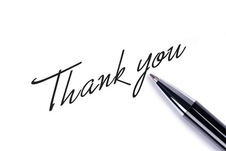 merci: Merci de noter sur fond blanc