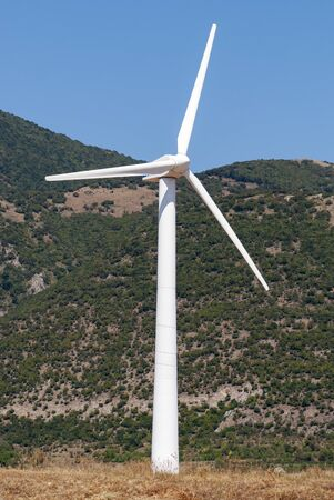Windmill for electric power