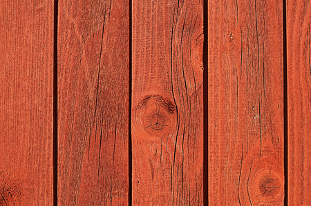 vertically: Old wooden natural textured board of red color, vertically for background Stock Photo