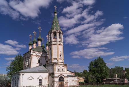Trinity church, built in the begining of XVIII century, Serpukhov,Moscow region. Stock Photo