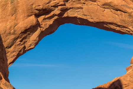 moab: Beautiful  landscape in the Arches National park,Utah,USA, Stock Photo