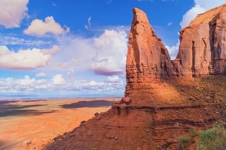 Beautiful views of the Monument Valley navajo tribal park, Arizona, USA.