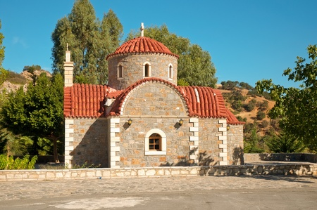 Greece orthodox chapel in Crete. photo