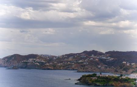 View of  blue bay . Crete, Greece . Stock Photo - 9554466