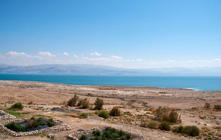 The road along the Dead Sea. photo