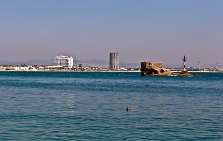 Akko - the city is considered one of the worlds landmarks and cities  listed as World Heritage by UNESCO.  Israel . photo