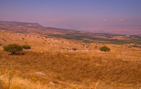 View of the Golan. North Israel. Stock Photo - 10081022