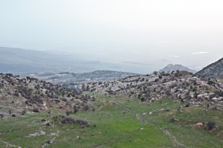 Mount Hermon  - northern Israel   Spring   photo