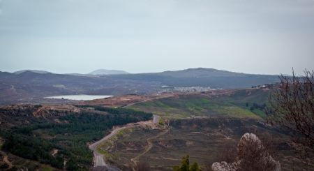 Mount Hermon panorama - northern Israel   photo