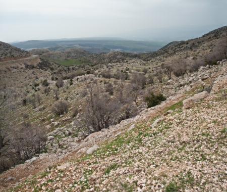 Mount Hermon panorama - northern Israel   Spring   photo