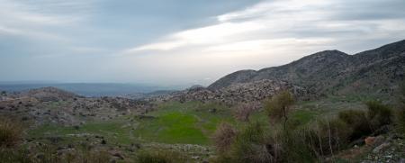 Mount Hermon panorama - northern Israel   Spring   photo
