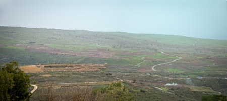Mount Hermon panorama - northern Israel . photo