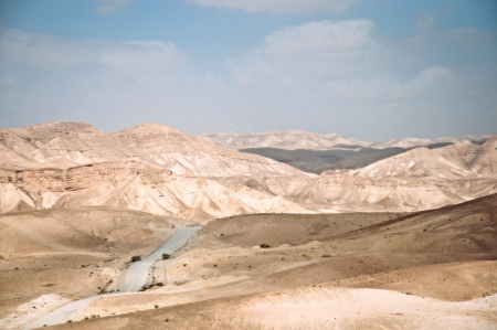 scorching: Judean Desert, under the scorching rays of the sun. Israel. Spring.