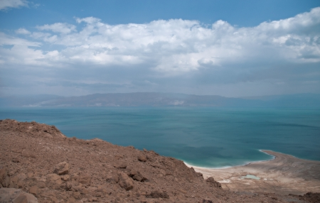 View of the Dead sea, Israel photo