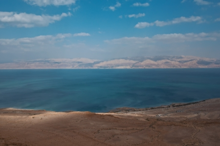 View of the Dead Sea coastline. Israel. Stock Photo - 19240304