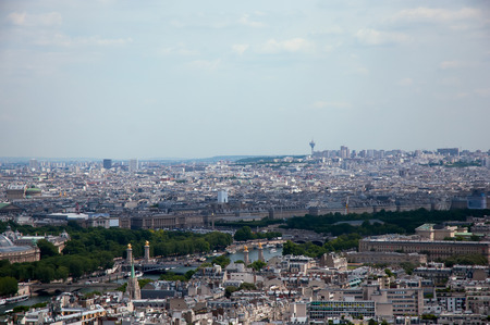 alexandre: Panorama of Paris view of the Seine, Pont Alexandre 3