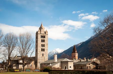 aosta: Aosta Valley, Italian Alps, Italy, Europe . Stock Photo