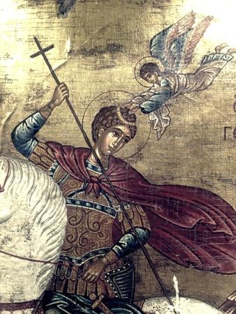 orthodox: Saint George orthodox icon
