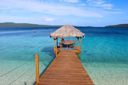 fishing huts: The Jetty, vanuatu
