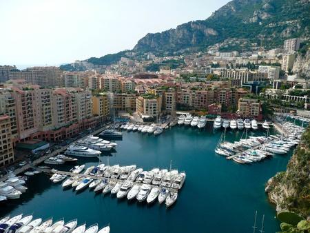 Fontvieille Harbour, Monaco, France photo