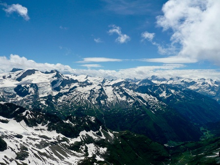 View over Mt Titlis, Switzerland photo