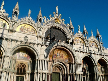 saint marco: San Marco Cathedral, Venice Stock Photo