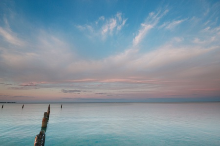 Beautiful sunset over the ocean Stock Photo - 11153815