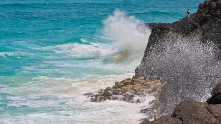 crashing: The Lone Fisherman